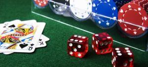 dès jetons cartes casino